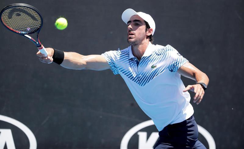 Cuevas abrió con victoria en su debut en Australian Open