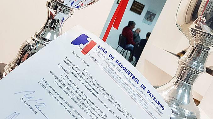 Faltante en auditoria generó denuncia penal en la Liga de Paysandú