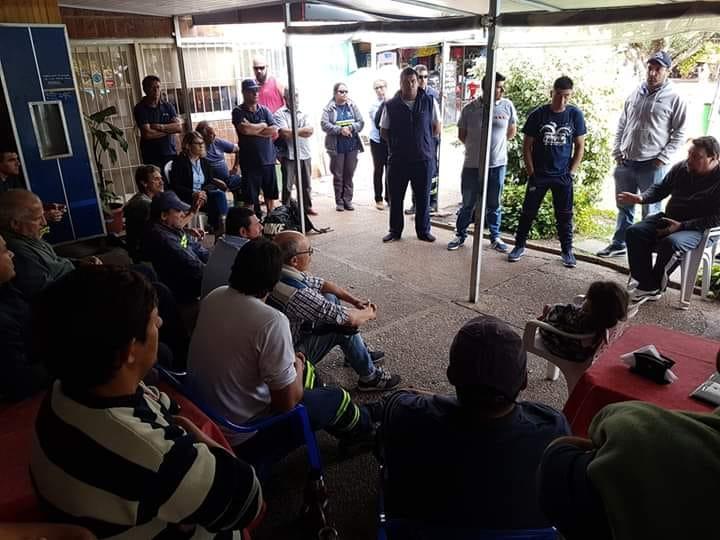 Funcionarios municipales plantean acordar  protocolo de seguridad en todos los sectores