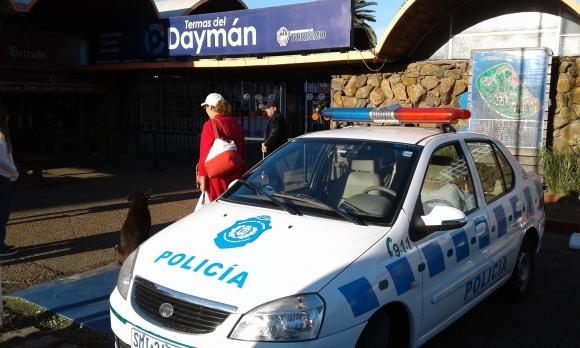 Delincuentes armados coparon Termas  del Daymán y se llevaron 1.700.000 pesos