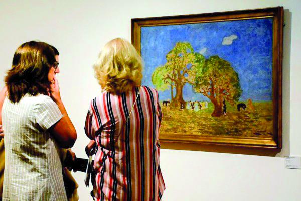 Hasta el 30 de abril  se expone muestra  de Pedro Figari