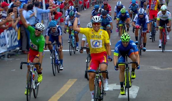 Ciclismo: Naranjo sumó  su 4º triunfo en 5 etapas