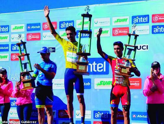 Vargas se quedó con la Vuelta del Uruguay y Agustín Moreira confirmó ser mejor uruguayo